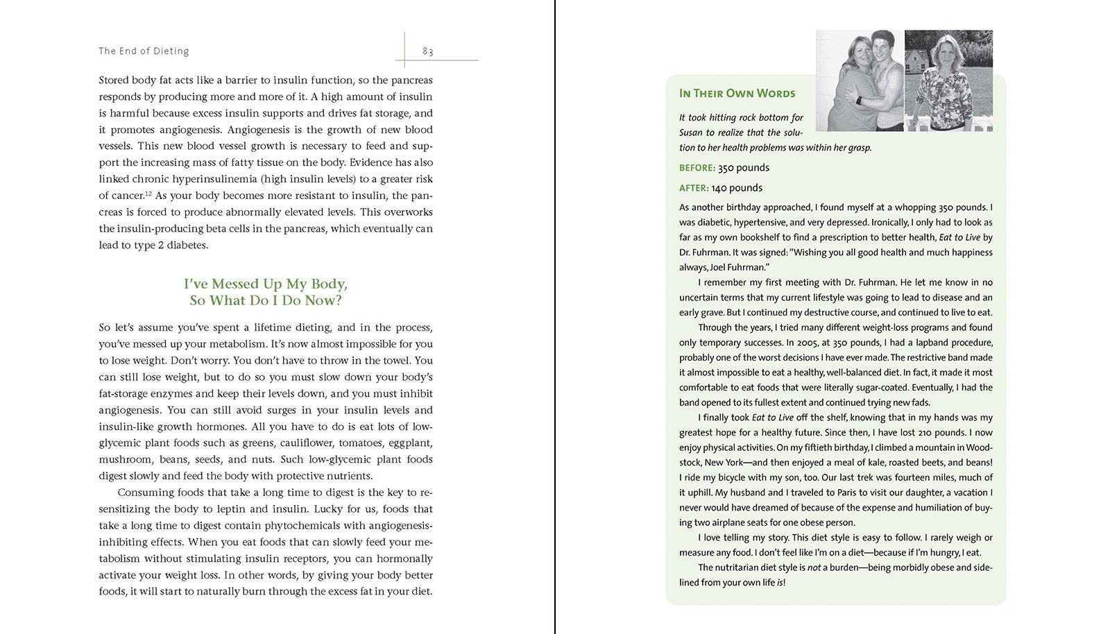 END OF DIETING THE: Amazon.es: JOEL FUHRMAN: Libros en idiomas extranjeros
