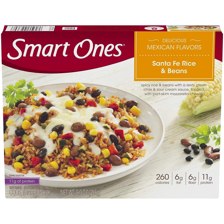Smart Ones Delicious Mexican Flavors Santa Fe Rice & Beans Frozen Meal (9 oz Box)