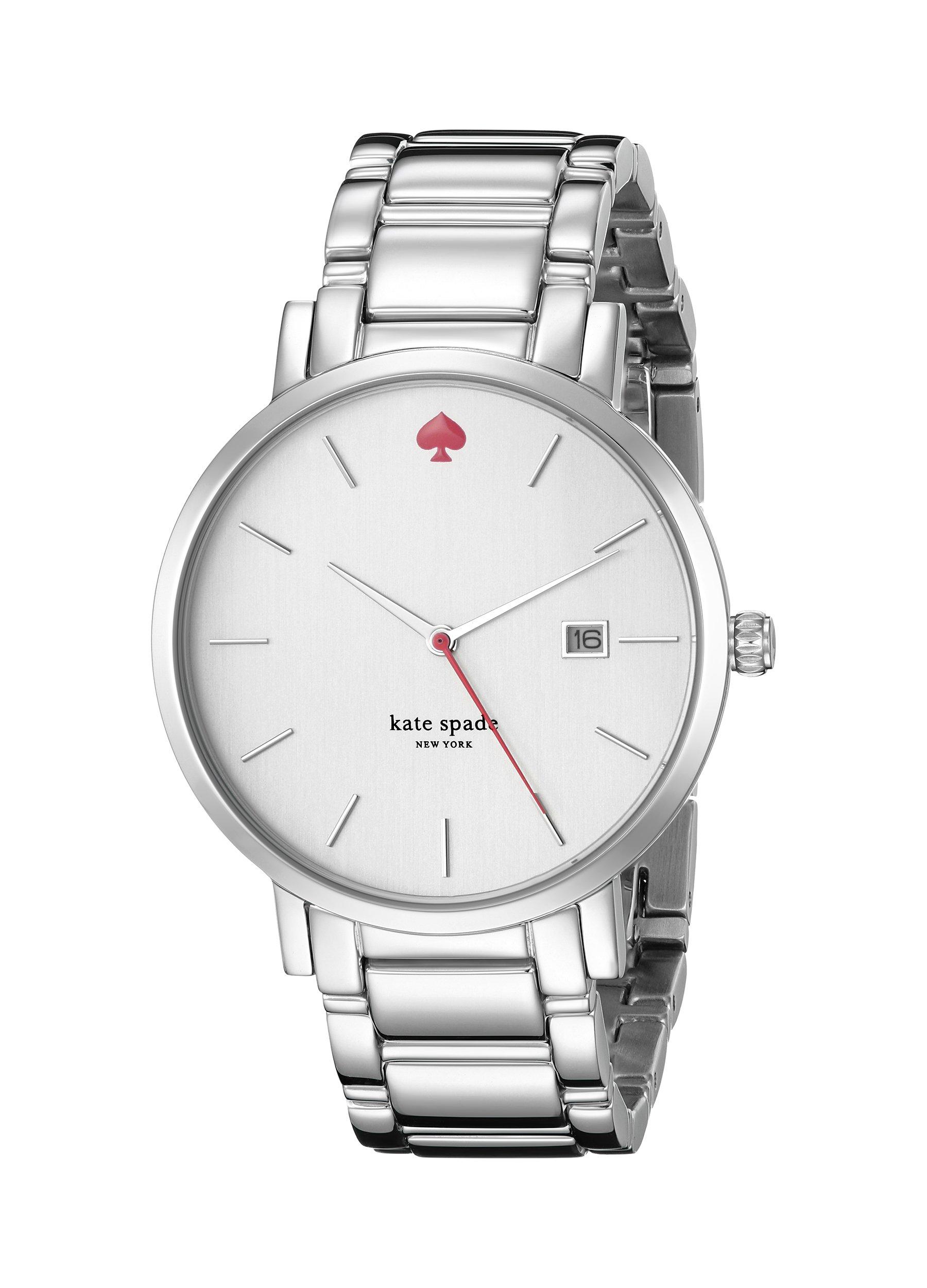 kate spade new york Women's 1YRU0008 ''Gramercy'' Stainless Steel Bracelet Watch