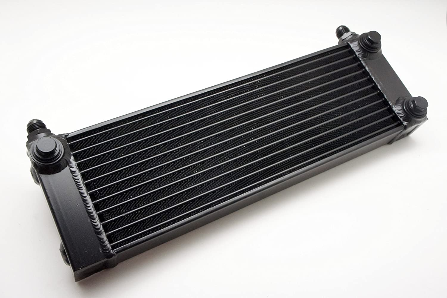 3.3 Feet Autobahn88 Aluminum Oil and Fuel Cooler Bar Tube Includes 2 pieces M22 to AN10 Push On Adapters 1 Meter