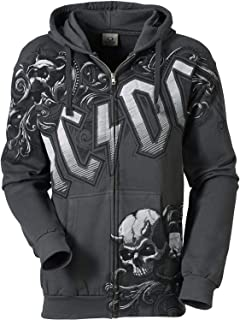 30fe16307e26 Sweat - Shirt - schwarz - 5XL - ACDC 3 - Angus Young - 1042  Amazon ...