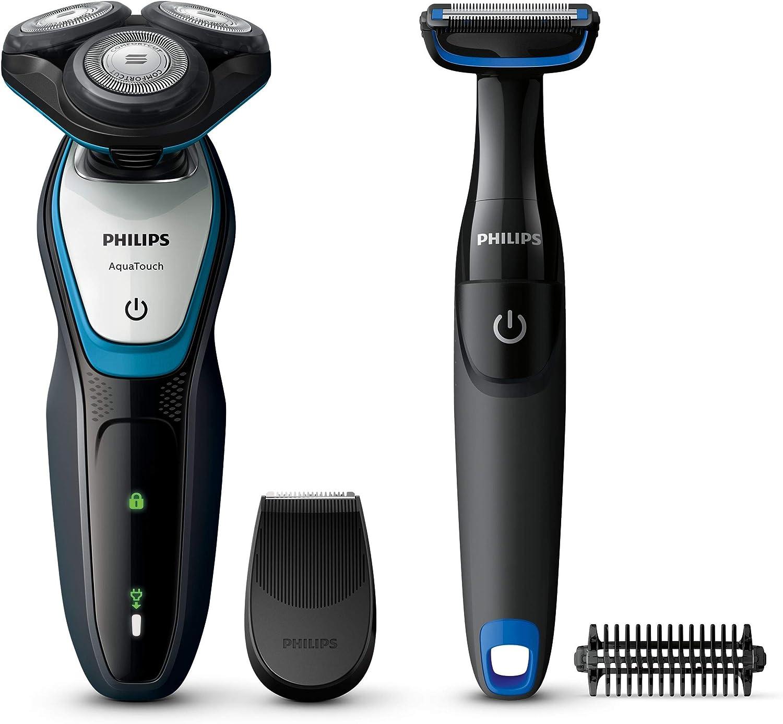 Philips AquaTouch S5070/92 - Afeitadora (Máquina de afeitar de ...