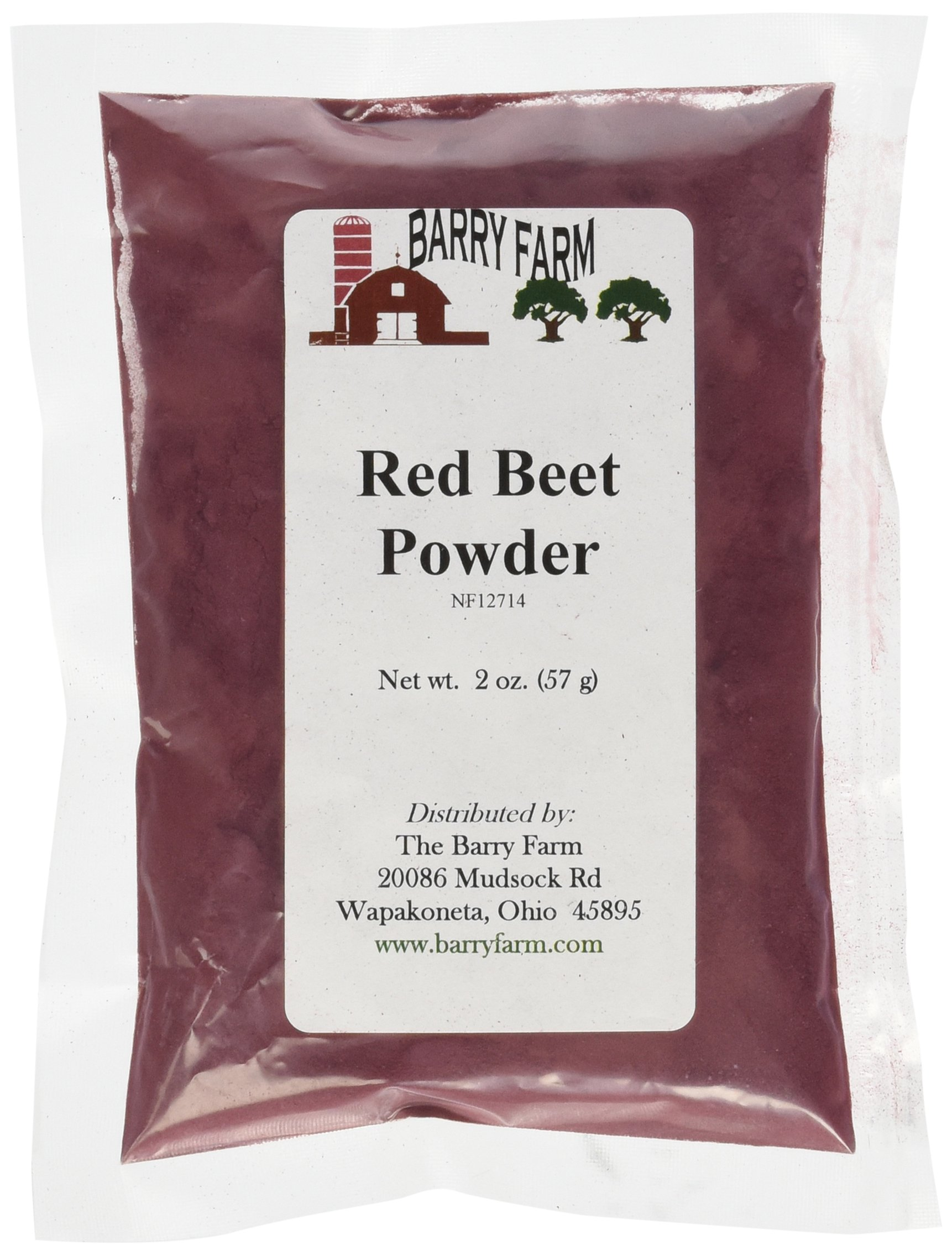 Red Beet Powder 2 oz. by Barry Farm