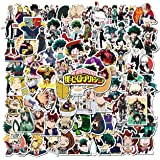 My Hero Academia Sticker 100pcs Cool Anime Stickers for Computers Laptop Skateboard Stickers for Kids Teens Adults…