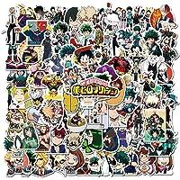 My Hero Academia Sticker 100pcs Cool Anime Pegatinas para Ordenadores Laptop Skateboard Pegatinas para Niños…