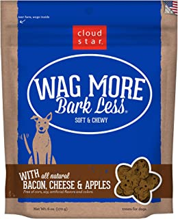 product image for Cloud Star Wag More Bark Less Original Soft Chewy Dog Treats, Corn Soy Free, Made in USA Only, 6oz