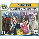 Mystery Trackers BLACKROWS SECRET + RAINCLIFFS PHANTOMS Hidden Object PC Game DVD -ROM