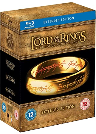 Lord of the Rings Trilogy Extended Edition Reino Unido Blu-ray ...