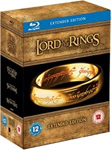 Lord of the Rings Trilogy [Blu-ray] [Import anglais]