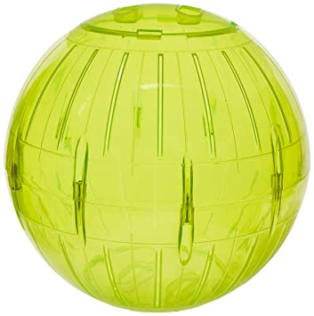 Pet supplies pet habitat decor lees kritter krawler giant lees kritter krawler giant exercise ball 12 12 inch colored sciox Image collections