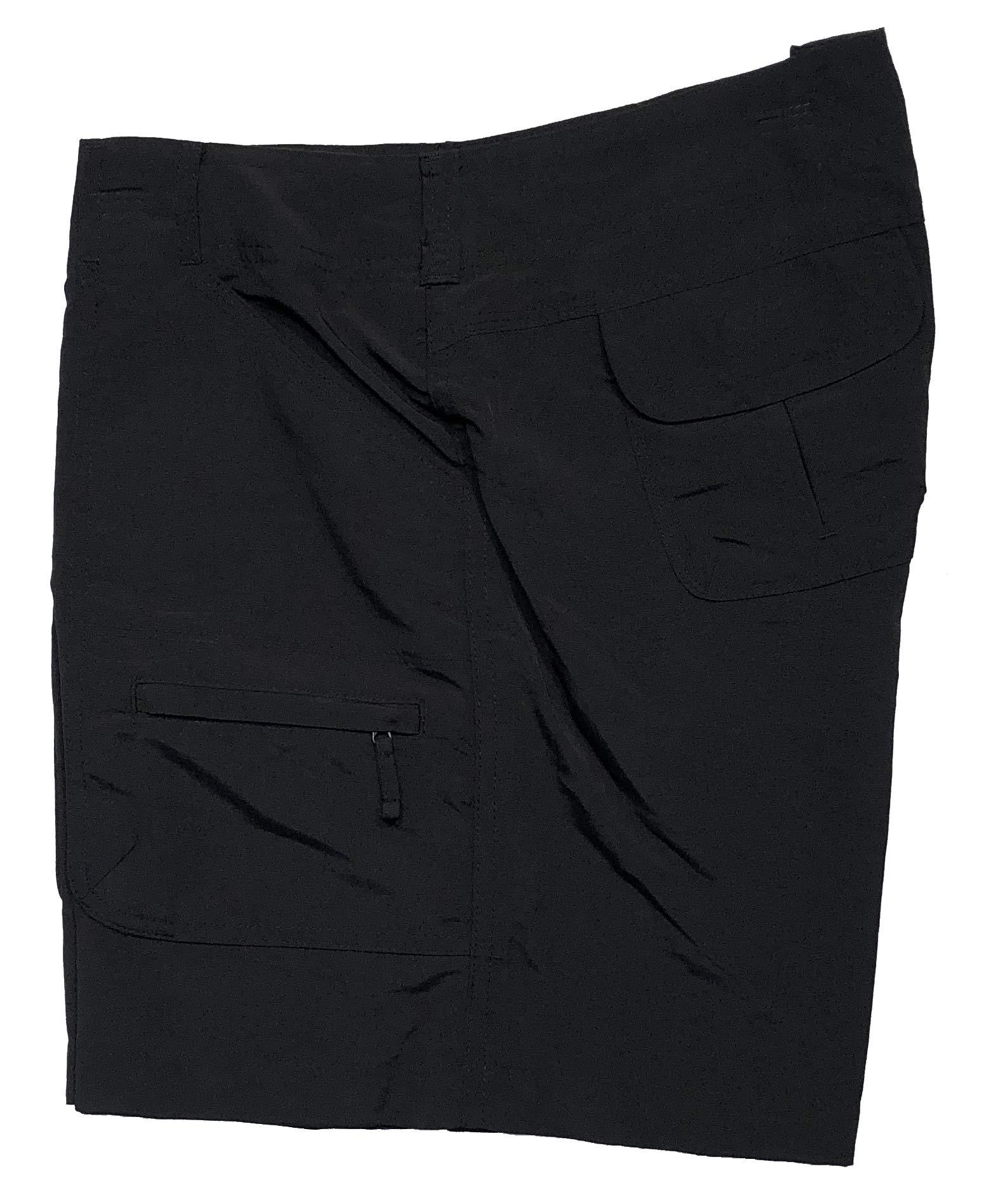 Bimini Bay Outfitters Women's Challenger II Short (Black, 12) by Bimini Bay Outfitters