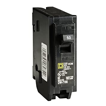 Square d by schneider electric hom150cp homeline 50 amp single square d by schneider electric hom150cp homeline 50 amp single pole circuit breaker greentooth Images