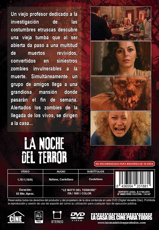 La noche de terror: Masacre zombi [DVD]: Amazon.es: Karin ...