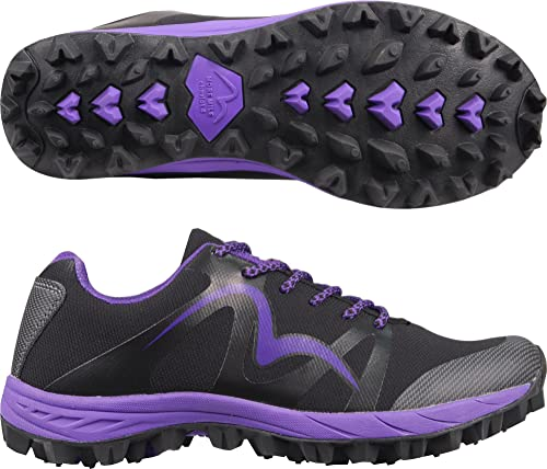 More Mile Cheviot 4 Ladies Trail Running Shoes  Black3