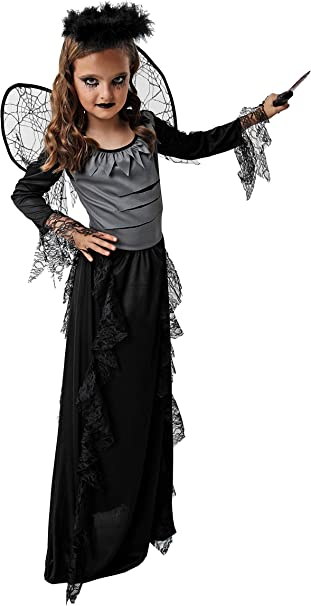 Costumizate! Disfraz de Angel Caido para niños Adulta talla10 a 12 ...