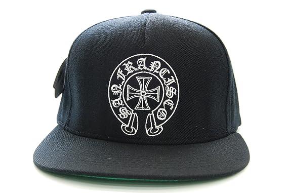 a64da4e5740 Chrome Hearts Snapback Hat Parody San Francisco Cap  Amazon.co.uk  Clothing
