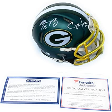 Fanatics Authentic Certified Clay Matthews Green Bay Packers Super Bowl XLV Autographed Riddell Mini Helmet