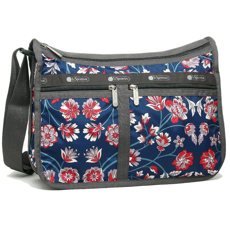 レスポートサック バッグ LESPORTSAC 7507 D959 DELUXE EVERDAY BAG レディース ショルダーバッグ 花柄 BLISSFUL VISION 紺 [並行輸入品] B075YCCPH1