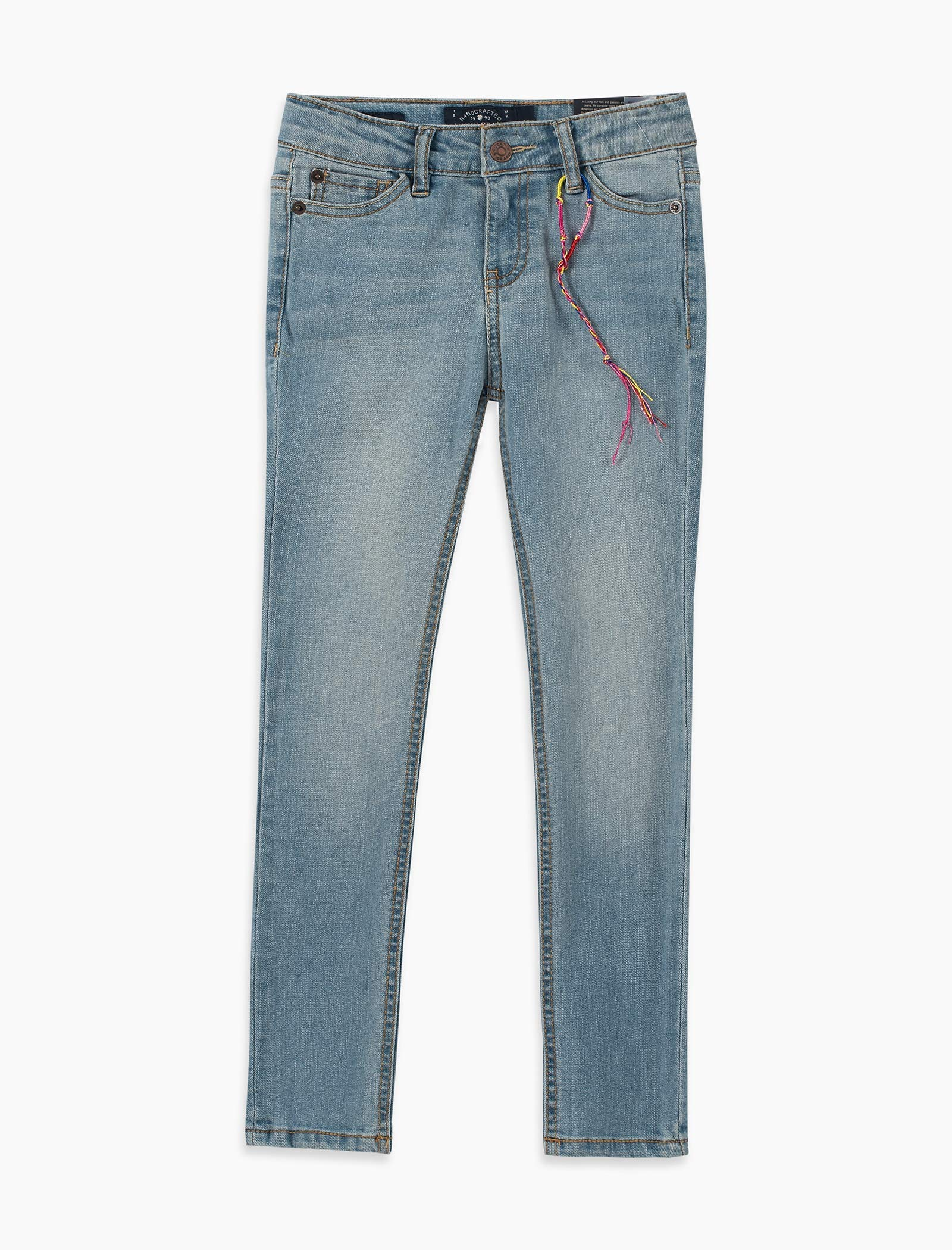 Lucky Brand Boys' Little 5-Pocket Classic Straight Jean, Yorba Linda, 5