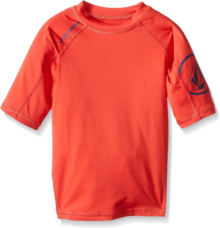 Volcom Boys Solid Short Sleeve Rashguard