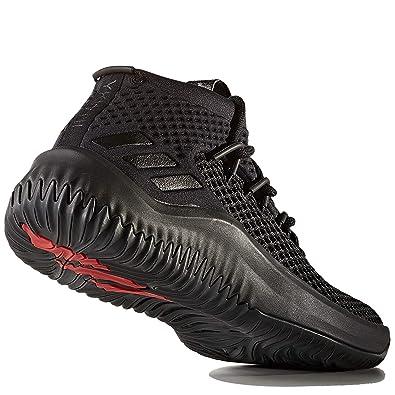 separation shoes 69c0d 56a0a adidas Kids Unisex Basketball Dame 4 Shoes Black Size 4 (M) US