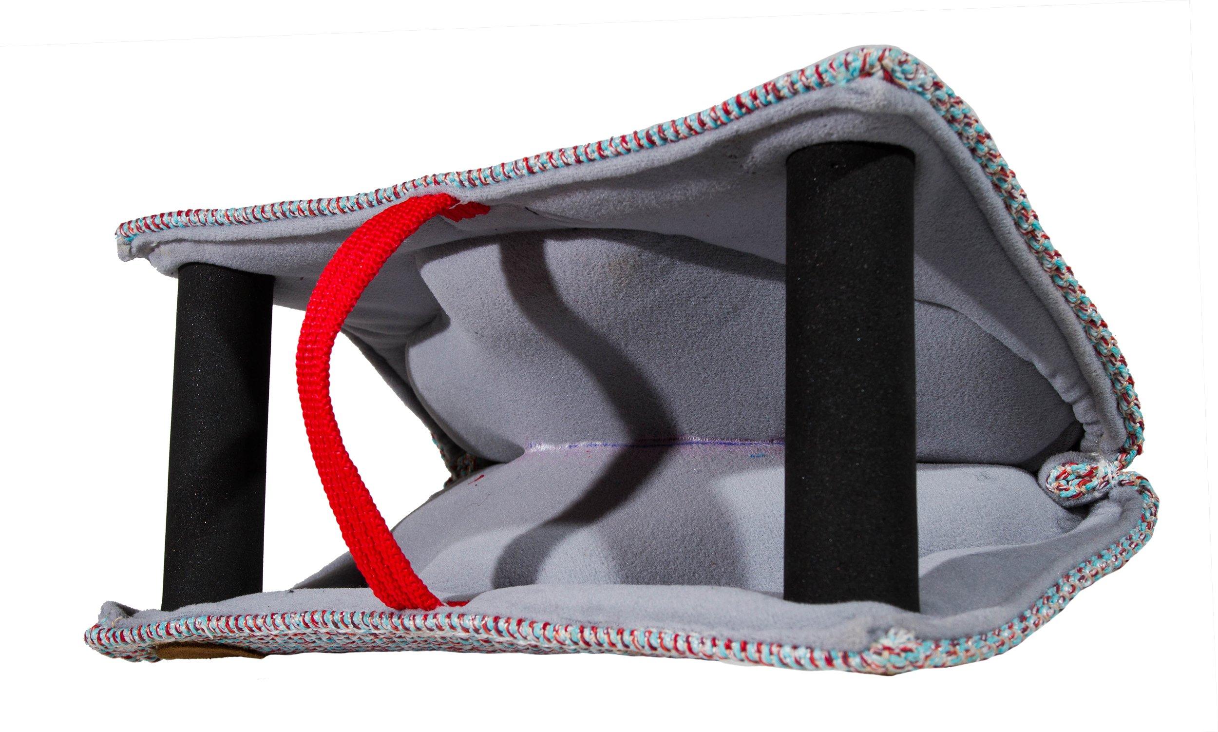 Julius-K9 143BK-W Cotton/Nylon Soft Bite Wedge, 31 cm