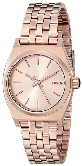 Nixon A399897 - Reloj de pulsera Mujer, color Oro Rosa