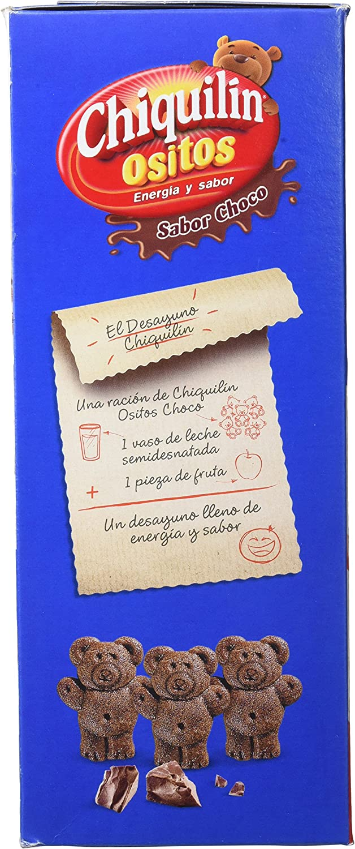 Artiach Chiquilín Ositos Galletas de Cereales - Chocolate - 500 gr ...