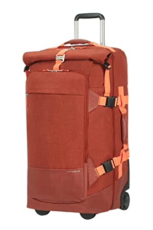 Samsonite Ziproll - Bolsa de Viaje con Ruedas (tamaño Grande, 75 cm), Naranja Oscuro (Naranja) - 116882/1156: Amazon.es: Equipaje