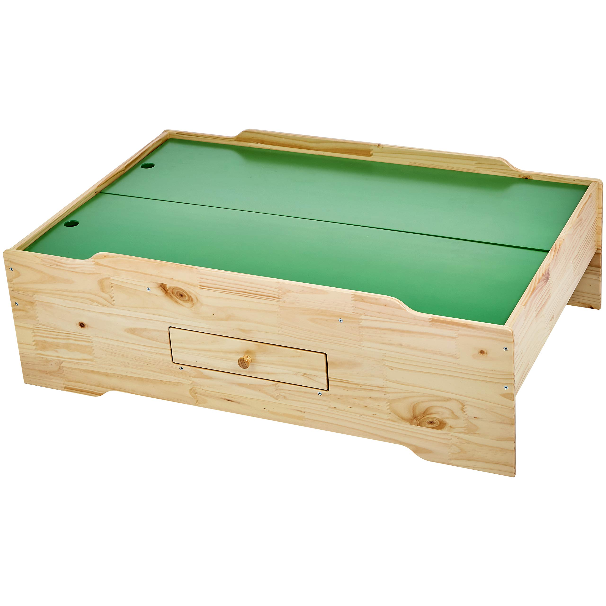 AmazonBasics Wooden Multi-Activity Play Table, Natural by AmazonBasics (Image #3)