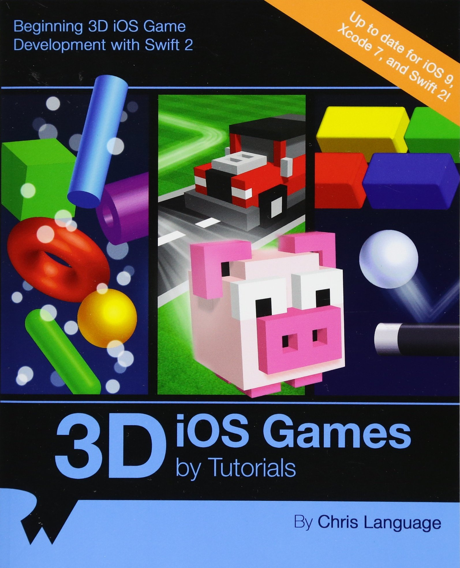 Tvos video tutorials for game development with swift 2 and sprite.