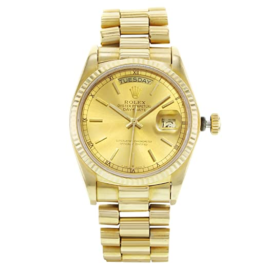 Rolex 18038 - Reloj automático, automático, automático, automático, con certificado de autenticidad: Rolex: Amazon.es: Relojes