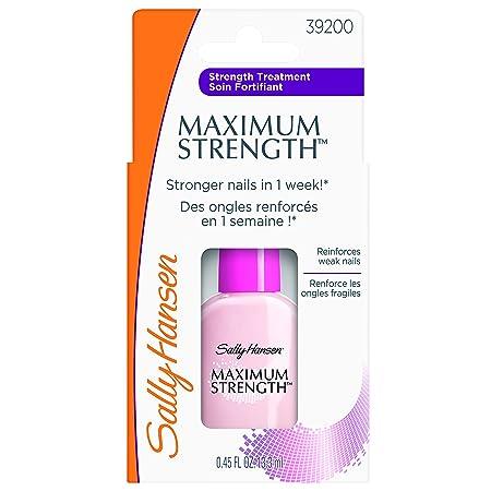 e7b4d30cce Amazon.com  Sally Hansen Treatment Maximum