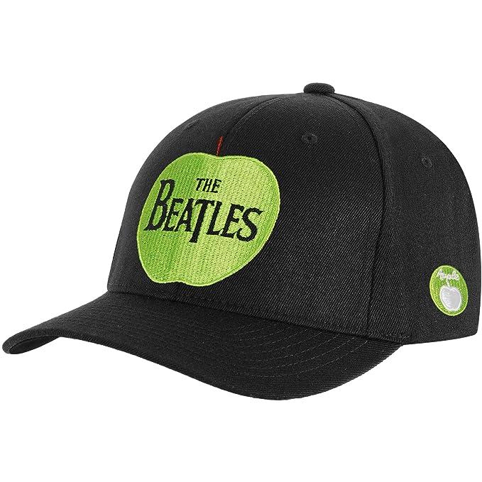 Beatles Men s Apple Logo Baseball Cap Adjustable Black  Amazon.ca ... 7700d3bf76c