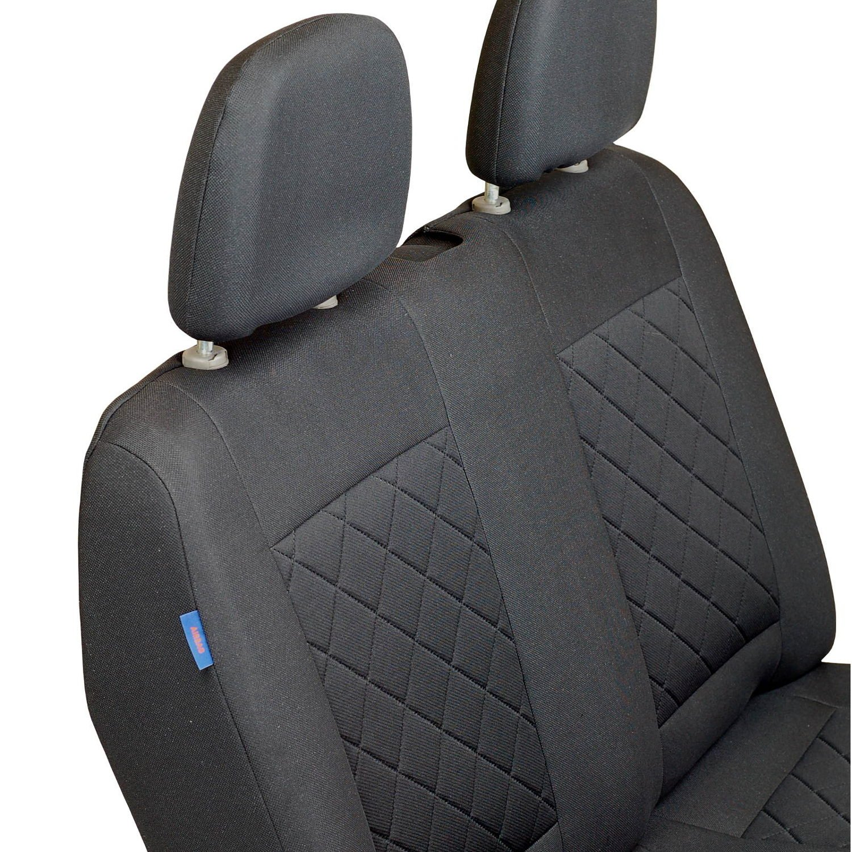 /1/set/ NV200/Fundas de asiento/ /Producto Premium Negro tintada cuadros
