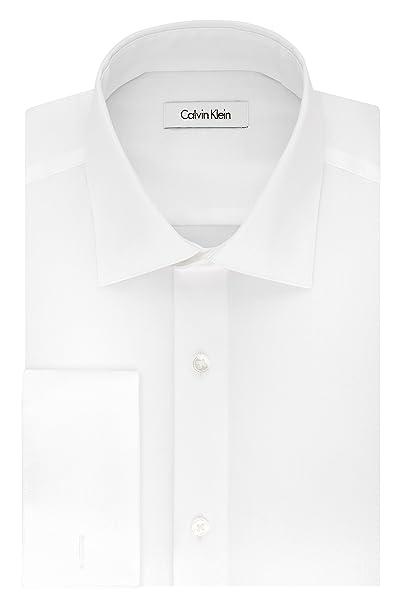 Calvin Klein - Camisa de Vestir para Hombre, Corte Regular, sin ...
