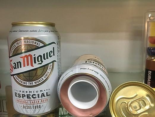 Caja fuerte camuflada ocultacion bote/lata cerveza simulada 330ml ...
