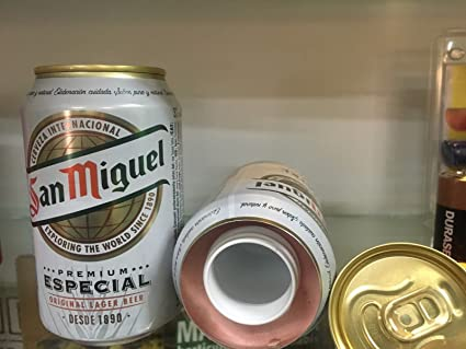Caja fuerte camuflada ocultacion bote/lata cerveza simulada 330ml