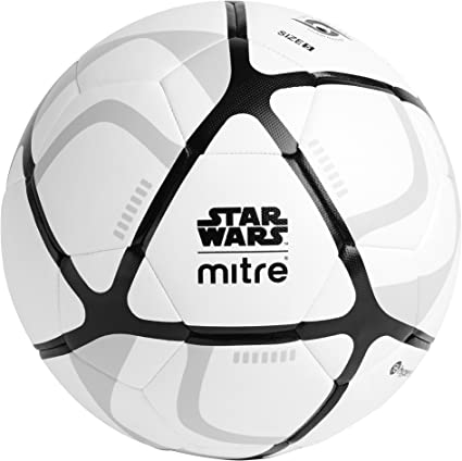 Mitre Unisex Star Wars Stormtrooper de fútbol, Color Blanco, Talla ...
