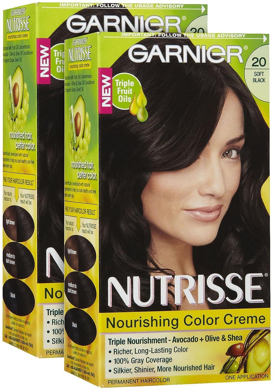 Amazon Garnier Nutrisse Level 3 Permanent Hair Creme Soft