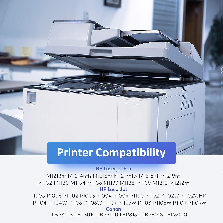 2 Nero Zambrero Compatibile Toner CE285A Sostituzione per HP CE285A 85A Cartuccia Toner per HP LaserJet Pro P1102W P1102 P1005 P1100 P1006 M1132 M1212nf M1136 M1130 M1217nfw Canon LBP3010 LBP6000