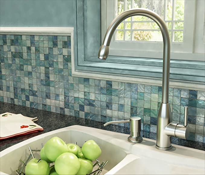 Ultimate Kitchen - Kitchen Sink Faucet (Brushed Nickel) - Leak Free ...