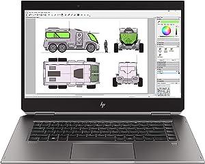 "HP Zbook Studio X360 G5 15.6"" Touchscreen LCD 2 in 1 Mobile Workstation - Intel Core i9 (8th Gen) i9-8950HK Hexa-core (6 Core) 2.90 GHz - 32 GB DDR4 SDRAM - 512 GB SSD - Windows 10 Pro - in-Plane"
