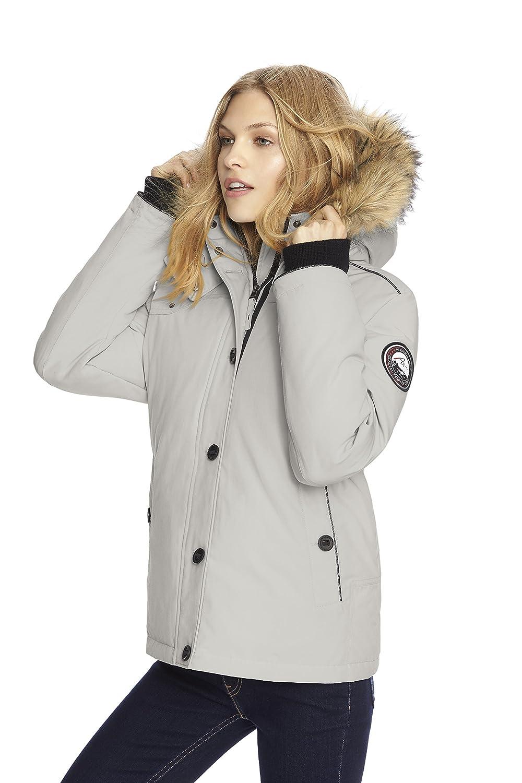 Alpinetek Womens Short Down Bomber Parka Coat