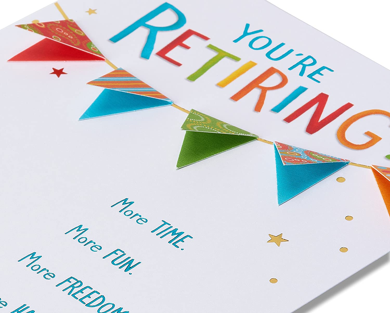 Amazon American Greetings Good Things Retirement