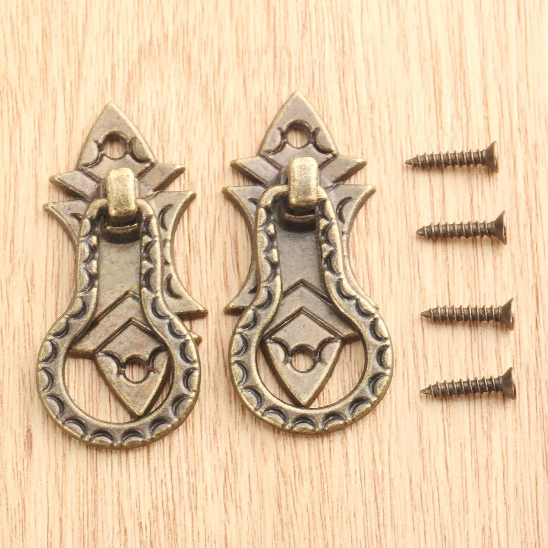 Kleiderschrank 10 St/ück Bronze Antike M/öbelkn/öpfe Ziehgriffe M/öbelgriffe Schrankgriffe mit Schrauben f/ür Schublade und T/ür.K/üchenschrank