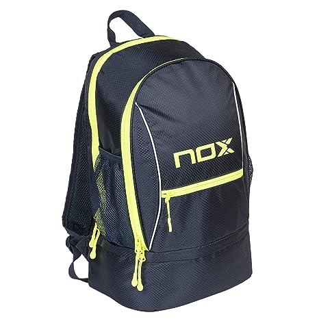 Nox Street Blue Mochila, Deportes, Azul Marino y Amarillo