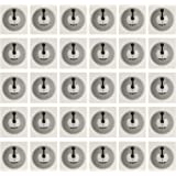 THONSEN 30pcs NTAG215 NFC Stickers Round 25mm(1 inch) Blank White NTAG 215 Tags Work Perfectly with TagMo Amiibo and All…