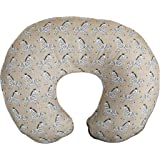 Boppy Premium Nursing Pillow Cover, Sand Zebra Parade, Ultra-Soft Microfiber Fabric in a Fashionable Two-Sided Design, Fits A