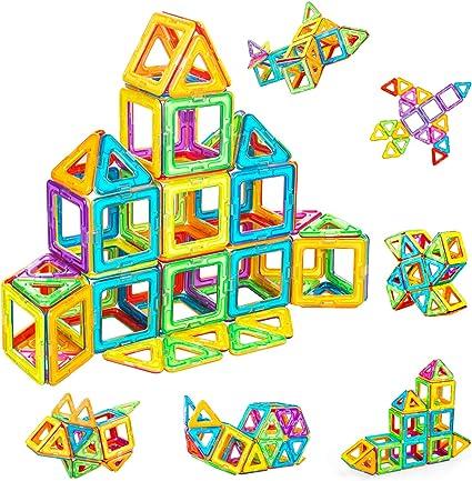 Magnetic Building Large Blocks Construction Toys Educational 40Pcs Big Transfer